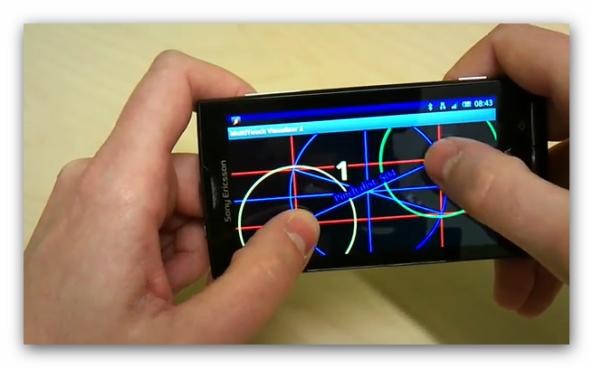 OFICIAL: Multi-Touch y DLNA para X10 en Q1-2011